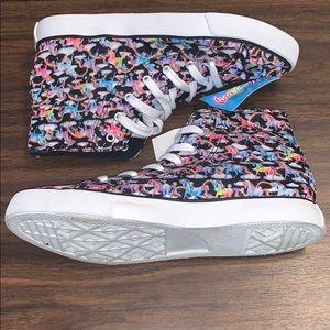 LISA FRANK Markie UNICORN HI-Top Sneakers